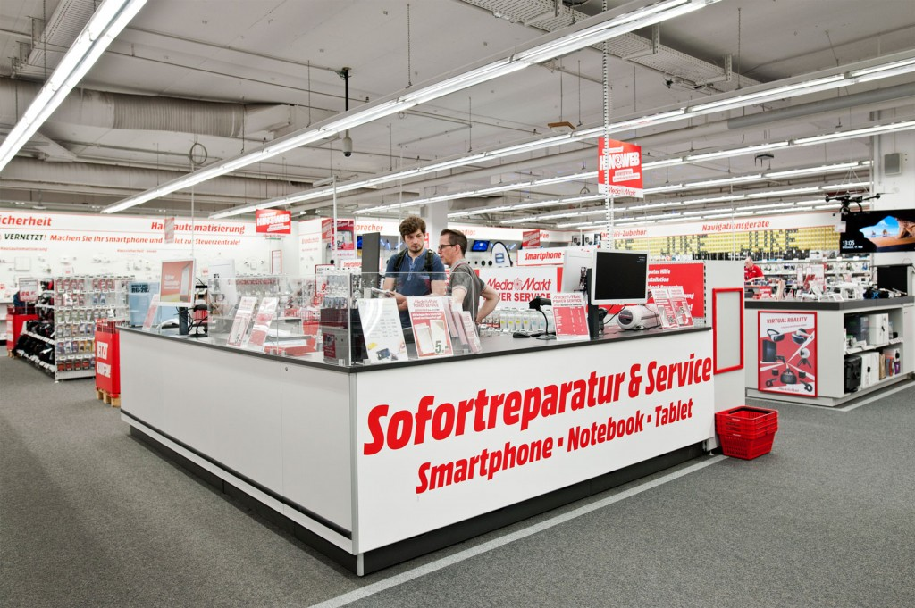 Counter, Sofortreperatur, Media Markt