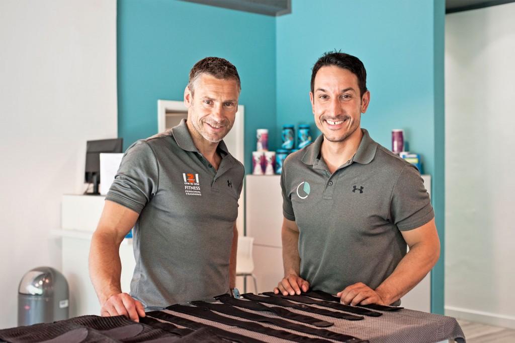 Inhaber Jörg Bednarzyk und Darko Safner