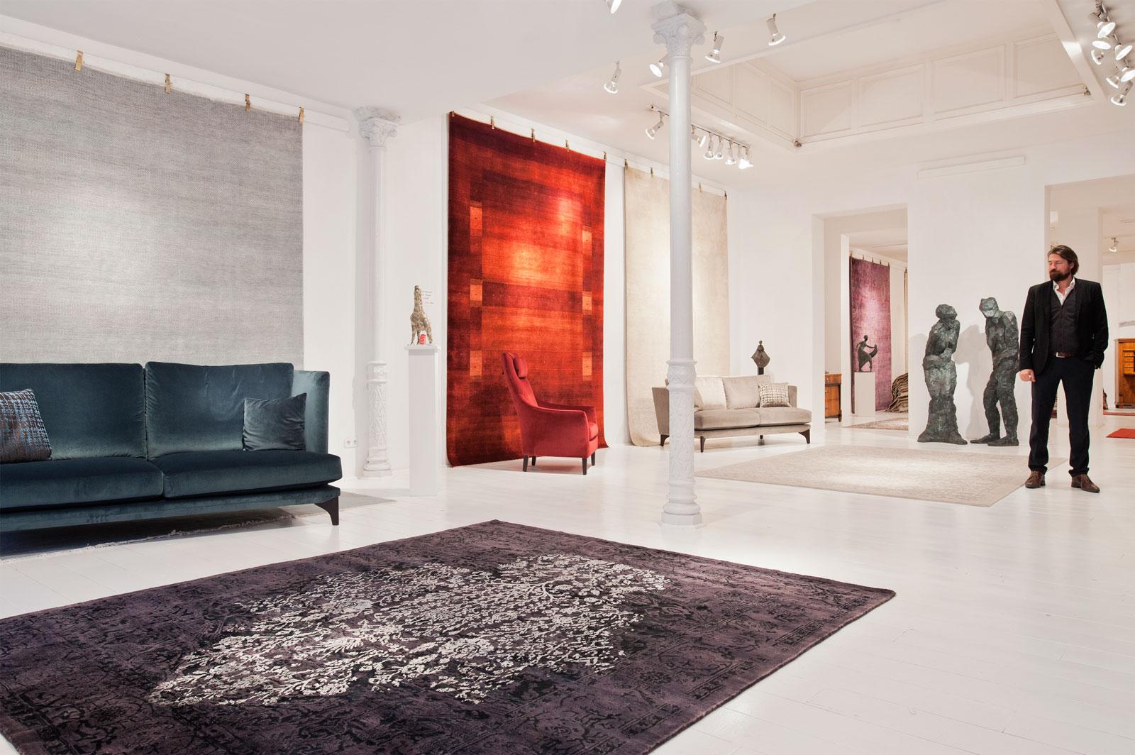 Kunst Teppichhaus Kustermann Fine Arts Fine Carpets Fine