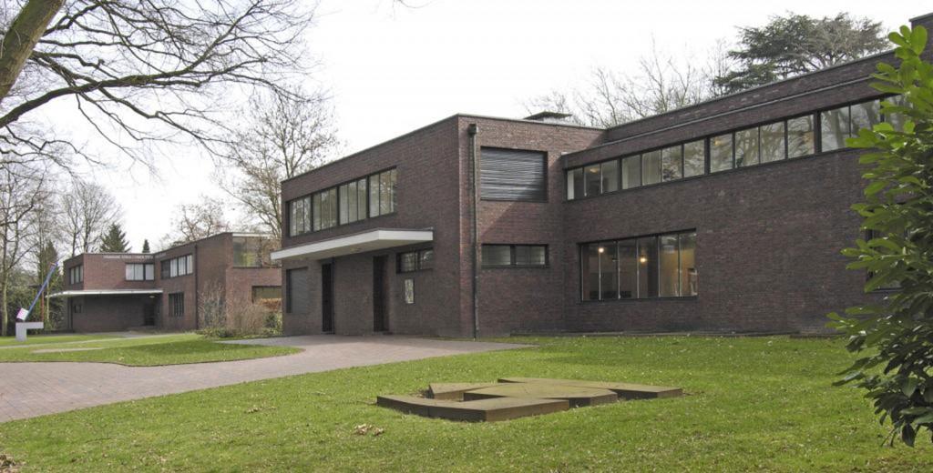 Haus Esters, Haus Lange, Krefeld, Kunst